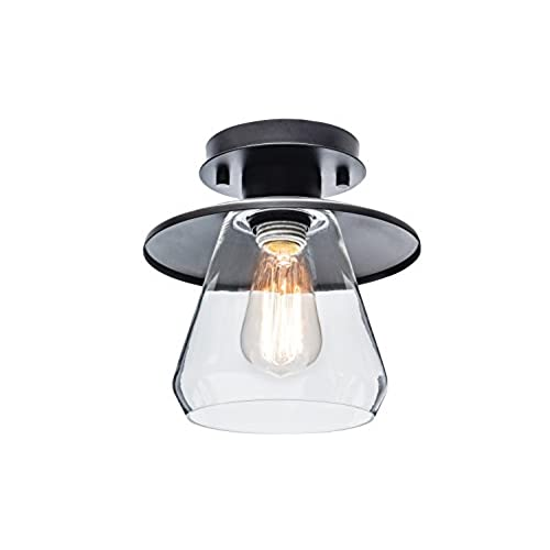 Hall way lighting hall way lighting werilo hall way lighting globe electric vintage semi flush mount ceiling light oil rubbed aloadofball Gallery