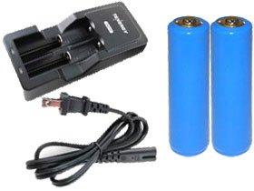Universal Li-Ion Battery Charger 2 Pcs 37V 2600 Mah Li-Ion 18650 With Pcb Protection