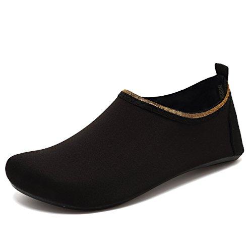 Sports Aqua Socks For Women VIFUUR Men Yoga On Kids Shoes Quick Dry Solid Barefoot Black Slip Water Tq5q4