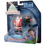 Arthur Christmas Mini Figure 2Pack Santa Bryony