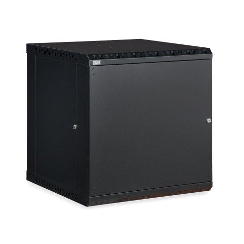 12U LINIER Fixed Wall Mount Cabinet – Solid Door