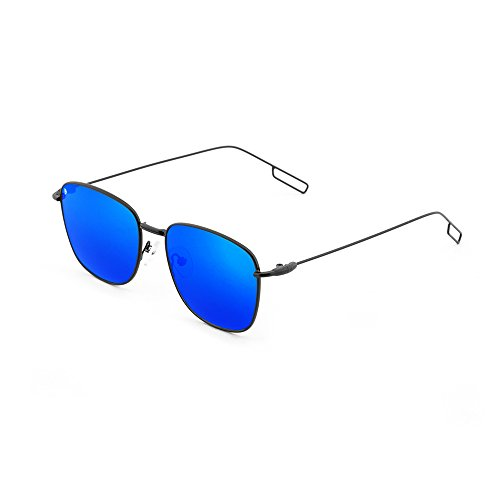 mujer sol de Negro Azul TANNING espejo TWIG Gafas hombre degradadas AUq0wqp5