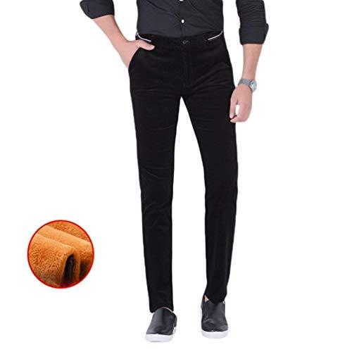 Casuale Size color Lungo Pantalone Black Affari Banda 33 1 Casual Ispessimento Rettilineo Saoye Pantaloni Traspirante Fashion Uomini Giovane Stil q0TH0