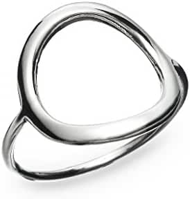 River Island Jewelry- 925 Sterling Silver Exquisite Women or Girls Open Round Ring Size 5