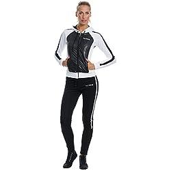 Mobina Donna Tuta da Ginnastica Fitness Jogging Ciclismo S