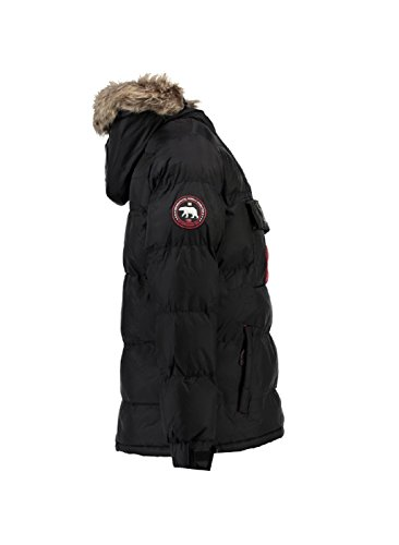 Brice Spartan Parka Rwqci0rxb For Norway Homme Noir Geographical Pwqv4Iq