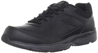 MW411 Health Walking Shoe,Black,10.5 4E