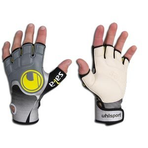 Uhlsport Futsal Sala Indoor Roughprofile Goalie Gloves 6aa528d0f35a
