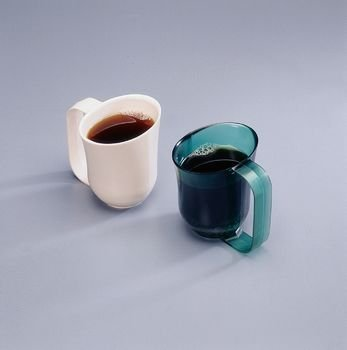 Dysphagia Cup. Color: Almond - Model A779100