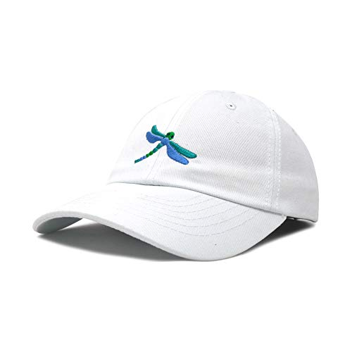 67dca30749d DALIX Dragonfly Womens Baseball Cap Fashion Hat in White