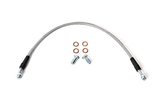 - Speedlinez Rear ATV Racing Brake Line for Yamaha Banshee 350 Stock Length - All Years