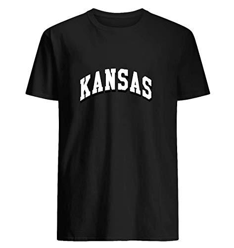 (Kansas classic ks T-shirt Printed With Eco-Friendly Inks)