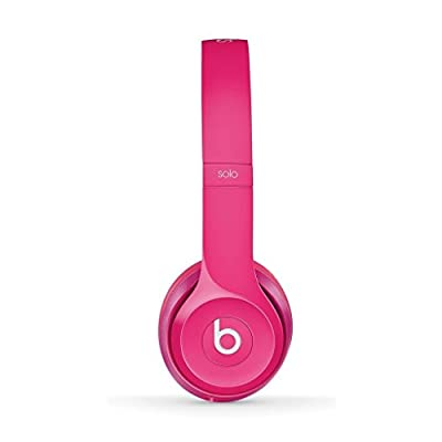 Beats Solo 2.0 Wired On-Ear Headphones (Gloss Pink)