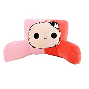 Cute Reading Pillow : Amazon.com: Mltao Lumbar pillow Support Cushion Cartoon Cute Cozy Standard Pillows,Reading ...