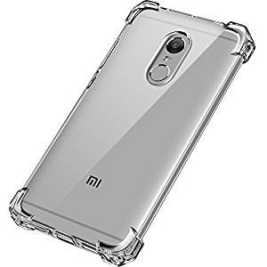 Hyper Take XIAOMI MI REDMI NOTE 4 Anti Shock Protective Soft Transparent Shockproof Hybrid Protection Back Case Cover Cases   Covers