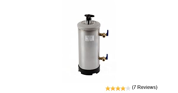 Classeq ws12-sk Manual descalcificador de agua, 12 L, acero inoxidable: Amazon.es: Industria, empresas y ciencia