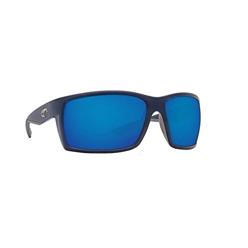 Costa Del Mar RFT75OBMP Reefton Sunglass, Matte Dark Blue Blue - Costa Sunglasses Reefton
