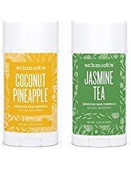 - Schmidt's Deodorant Stick Variety Pack (Coconut Pineapple & Jasmine Tea)