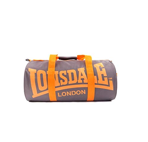 Lonsdale Barrel Bag Charcoal Orange  - Buy Online in UAE.  bdcabddae3af1