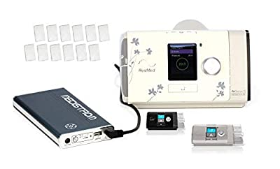 Pilot 24 Lite Backup Power Supply/CPAP Battery - Includes (12) Free AirSense 10, AirCurve 10 CPAP Machines Disposable Filters