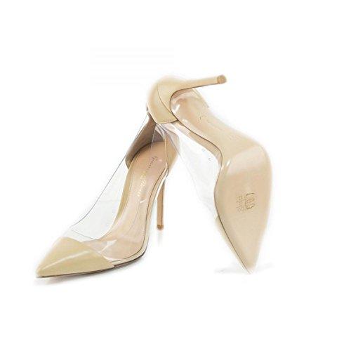 Gianvito Rossi Zapatos de vestir de Piel para mujer Rosa beige No