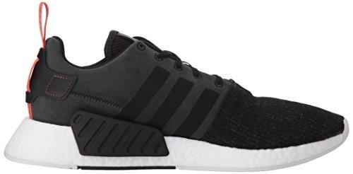Adidas Originaler Menns Nmd_r2 Sneaker Svart / Svart / Tidig Høsting
