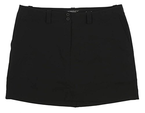 Nike Women's Modern Rise Tech Golf Skort, Black - 16