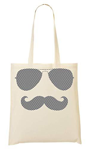 Mano La De Bolso Bolsa Sunglasses Moustache Cool AMS Compra De xS8qTXI