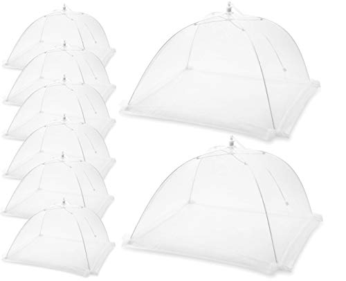 Iconikal 13 inch Serving Tents 8 Pack