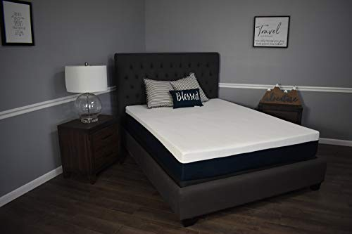 "Made in The USA 10"" Graphite Infused Memory Foam Mattress"