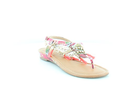 Thalia Sodi Womens Zella Split Toe Casual Slingback Sandals, Magenta, Size 7.0 from Thalia