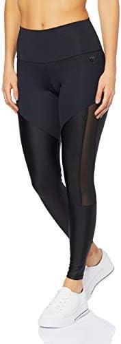 Calça Legging Detalhe Tela, Colcci Fitness, Feminino