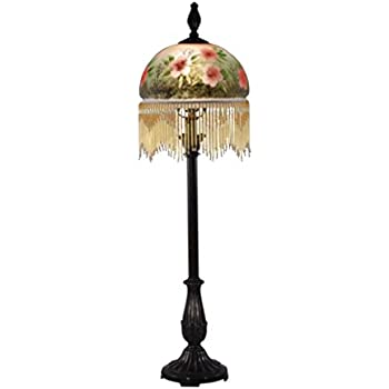 Dale Tiffany Ta80540 Leaf Vine Hand Painted Mini Lamp