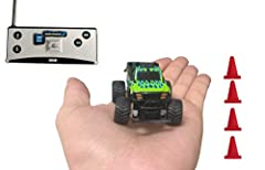 EXCITING MICRO RC ACTION - See them compete, enjoy racing with their friends, family and even adults! Give them the excitement of real world Baja Off Road Racing at home with these mini remote control cars. Each RC mini racer is small enough ...