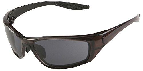Erb Safety Glasses - ERB 17913 8200 High Impact Safety Glasses, Dark Brown Frame with Polarized Lens