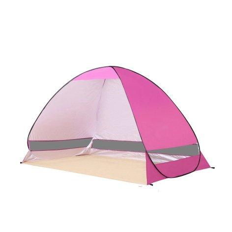 配管誰も交流するテントビーチテント自動オープン折りたたみ屋外二重釣り