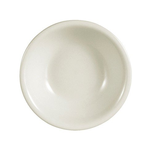"""Yanco RE-32 Recovery Fruit Bowl, 3.5 oz Capacity, 4.25"""" Diameter, China, American White Color, Pack of 36"""