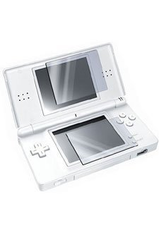 Top LCD, and Bottom Touchscreen LCD Screen Protector for Nintendo DSi [2 LCD Kit] with Lint-free Cleansing Cloth (Nintendo Dsi Screen)