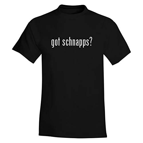 The Town Butler got Schnapps? - A Soft & Comfortable Men's T-Shirt, Black, XX-Large