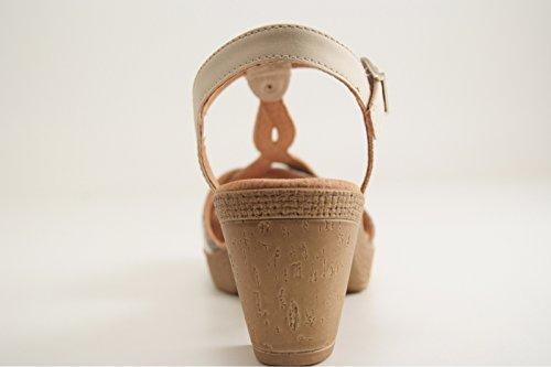 Jenny 22-53816-05 - Sandalias de vestir para mujer COTTON,TAU/SHE