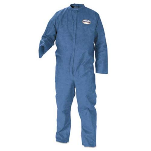 Kleenguard A20 Particle Protection Coveralls, Large - 24 Coveralls/Carton (1 Carton)