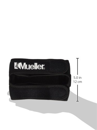 dc6a5e5adf Mueller Max Knee Strap, Black, One Size Fits Most