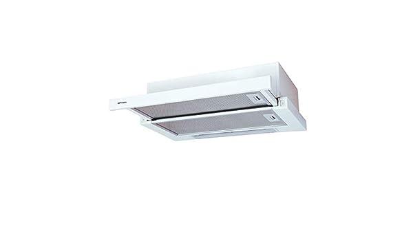 Orbegozo TL 06260 A BL – Campana extractora, 60 cm, 2 bombillas LED, extracción 302 m3/h, 2 niveles de potencia, 65 W: Amazon.es: Hogar