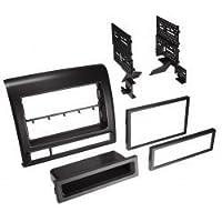 Best Kit BKTOYK973 Toyota Tacoma 2012-13 Single DIN / ISO Pocket or DB DIN in Flat Black