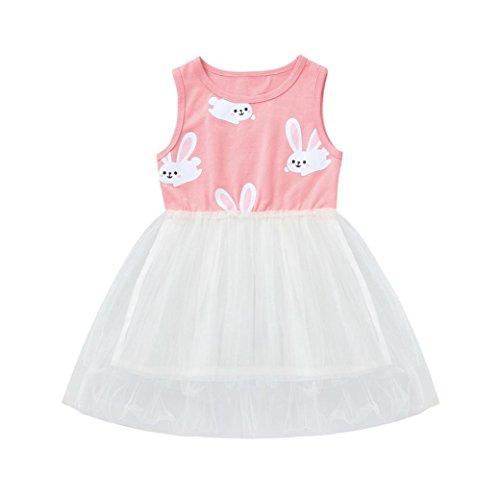 c8f03731ac8ef Amazon.com: Ankola Girl's Tutu Dress,Baby Girls Infant Kids Rabbit ...