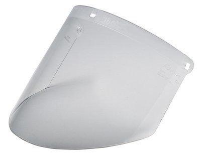 (1-Case 3M Clear Propionate Faceshield W96, 82700-00000, Molded 10 EA/Case // 7100000260)