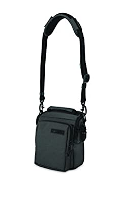Pacsafe Z6-Charcoal Camsafe Carrying Case for Cameras (Charcoal) by Pacsafe