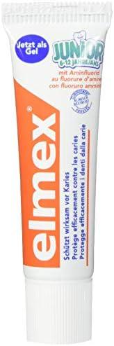 Elmex JUNIOR Zahnpasta, 6-12 Jahre, 6er Pack (6 x 12 ml)