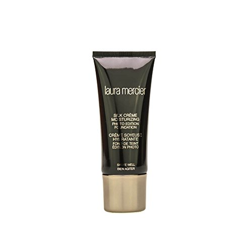 Laura Mercier Silk Creme Moisturizing Photo Edition Foundation for Women, Beige Ivory, 1 Ounce