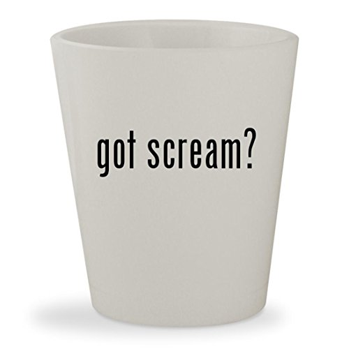 Michael Jackson Costume Party City (got scream? - White Ceramic 1.5oz Shot Glass)